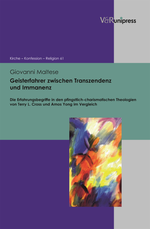 Book Announcement: Experience and its Epistemology in Pentecostal Theologies